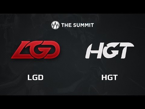 LGD -vs- HGT, The Summit Asia, LB Semifinal, game 1