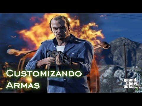 Customizando Armas | GTA V [PT-BR]