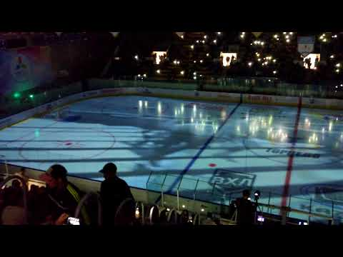 On-Ice Projection at Boris Alexandrov Sports Palace by ColosseoEAS