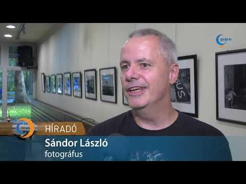 Sándor László fotóiból nyílt kiállítás a művelődési házban