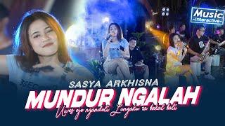 Download lagu Sasya Arkhisna - Mundur Ngalah ( Music Live) Uwes ojo ngandoli Lungaku ra bakal bali