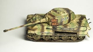 Revell TIGER II Ausf.B 1:72 model kit build