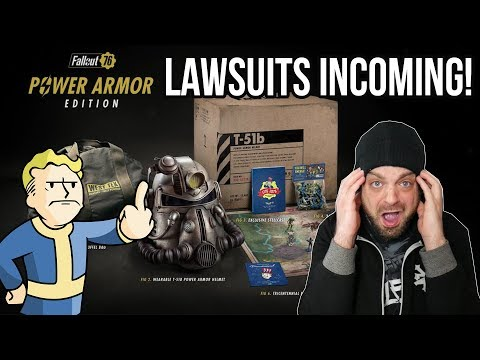 Bethesda SCREWS Fallout 76 Fans; Lawsuit Incoming! | RGT 85