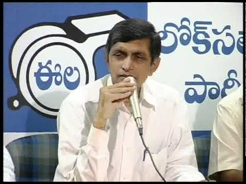 Lok Satta Jayaprakash Narayans reply to Telangana Rastra Samiti attacks