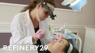 I Tried Eyebrow Microblading   Beauty With Mi   Refinery29