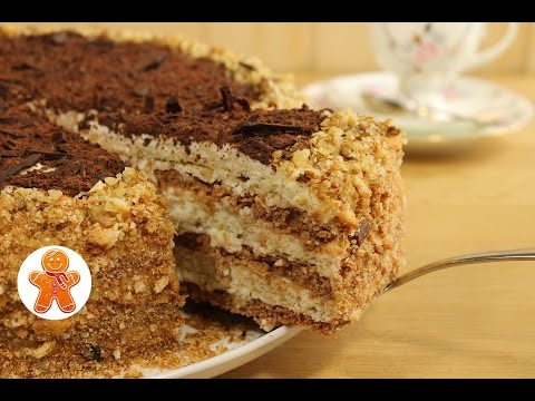 Как приготовить торт-сметанник - видео