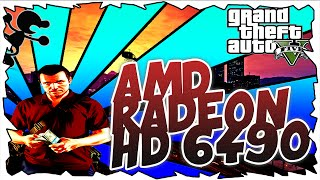 GTA V on AMD RADEON HD 6490 Gameplay + Download Link [60GB]