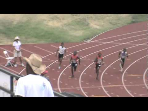 Bantam Boys 400m prelims Nationals