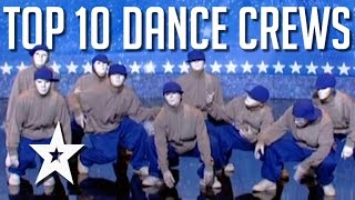 Best Ever Dance Crews on Got Talent  Got Talent Gl