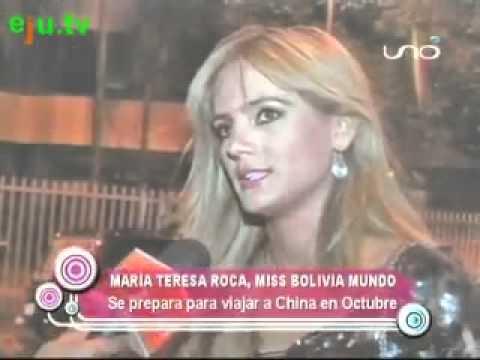 Miss Mundo Bolivia 2010