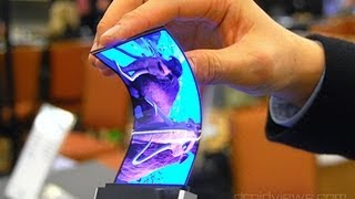 Samsung Announces Youm Flexible OLED Displays at CES 2013