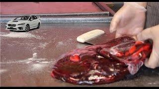 #51 Subaru STI candy.- Custom Candy Making