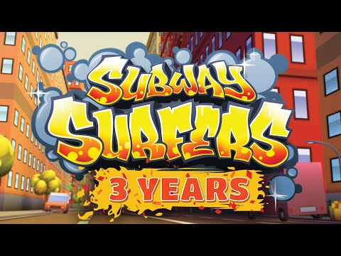 Subway Surfers - 3 Year Anniversary