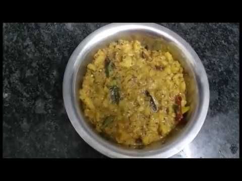 How To Prepare Raw Banana Curry || Raw Banana Curry Receipe || Kitchen Ruchulu