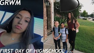 GRWM FIRST DAY OF FRESHMAN YEAR | back to school 2018
