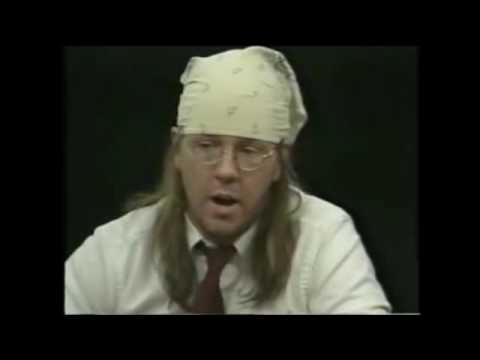 Charlie Rose interviews David Foster Wallace, 1/4