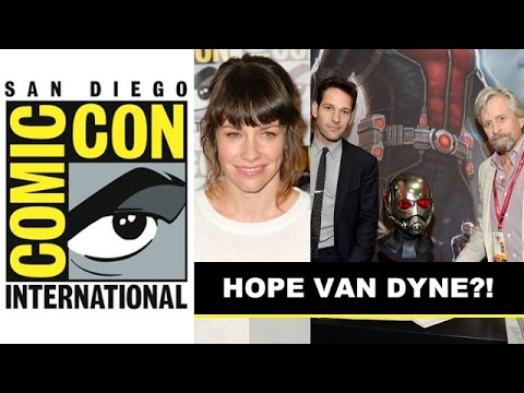 Comic Con 2014 - Ant-Man, Evangeline Lilly is HOPE Van Dyne : Beyond The Trailer