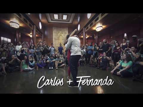Carlos and Fernanda Zouk Demo in L.A Zouk Congress 2017