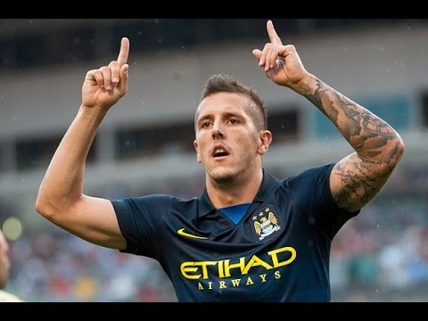 Stevan Jovetic / skills and goals / Manchester city 2013 2014 / unique striker 35