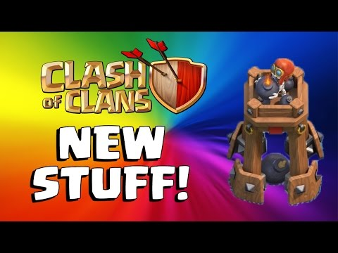 BOMB TOWER, NEW UPGRADES, NEW TROOP LEVELS | Clash of Clans Update!