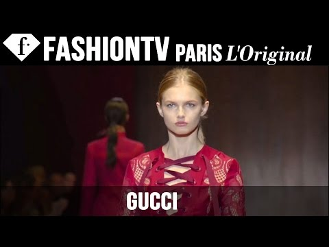 Gucci Spring summer 2015 Runway Show | Milan Fashion Week Mfw | Fashiontv video