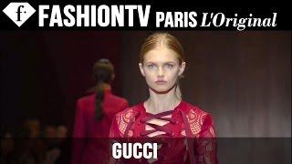 Gucci Spring/Summer 2015 Runway Show | Milan Fashion Week MFW | FashionTV