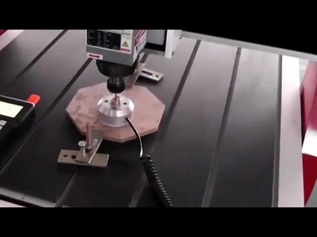 How to use the tool sensor to set Z 0 point, China cnc router