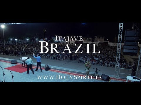 Holy Spirit Miracles and Fire in BRAZIL!!