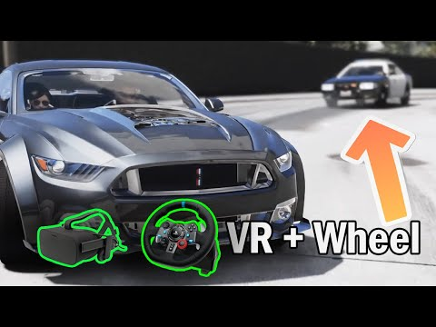 GOING TO LIBERTY CITY in GTA 5 VR + WHEEL **NEW 2020**