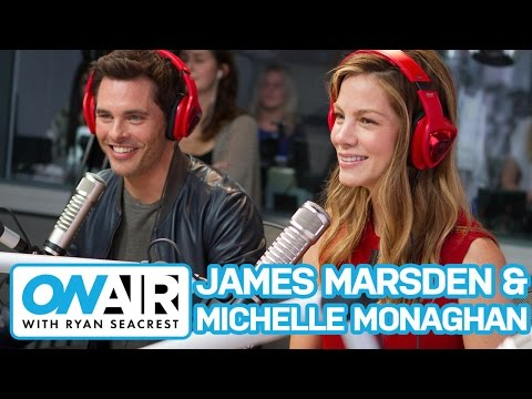 "James Marsden and Michelle Monaghan Talk ""The Best of Me"" 