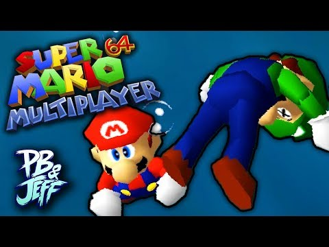 LUIGI DROWNED RIP! - Mario 64 MULTIPLAYER HACK! (Part 2)