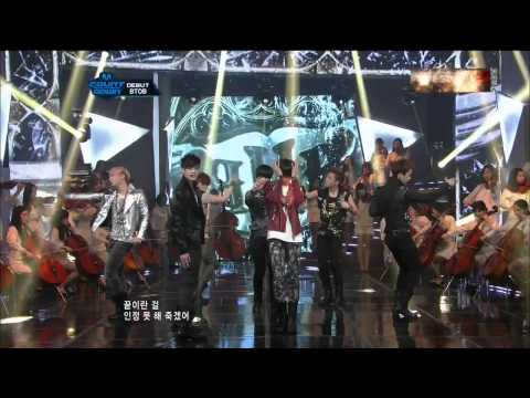 [hd] Btob - Imagine + Insane (hot Debut)  120322 Mnet M Countdown video