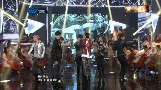 [HD] BTOB - Imagine + Insane (Hot Debut) @ 120322 Mnet M Countdown
