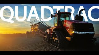 Spring Planting - CASE IH Quadtrac & Disc Drill - Part 8