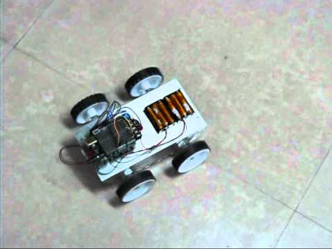 Arduino Heavy duty 4WD Robotic vehicle platform