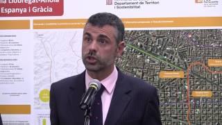perllongament de la línia Llobregat-Anoia d'FGC entre Plaça Espanya i Gràcia