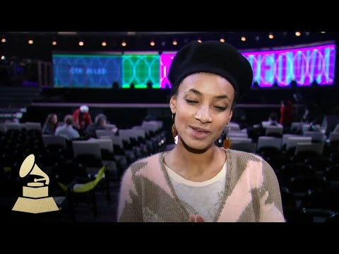 Esperanza Spalding Backstage Interview