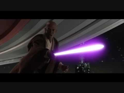 Star Wars Episode III Alternate Ending: Mean Mace Windu