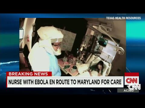Video shows Nina Pham in hospital room