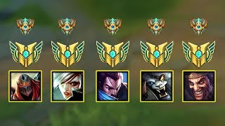 """Top 5 """"One Main"""" in League of Legends"""