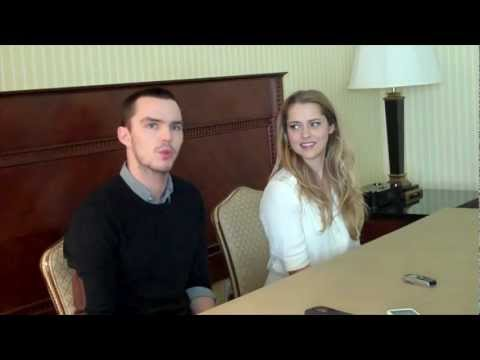 Interview with Teresa Palmer and Nicholas Hoult for Warm Bodies