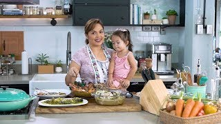 [Judy Ann's Kitchen 6]  Ep 1: My Pinoy Favorites - Binakol, Seafood Kare Kare, Tilapia