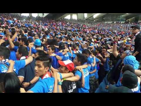 45000 JDT fans all do the poznan at Bukit Jalil Stadium Final FA Cup 2013 - (Curva B.O.S) Part 1