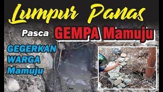 HEBOH !!! Semburan Lumpur dan Api Misterius Pasca Gempa Palu Mamuju