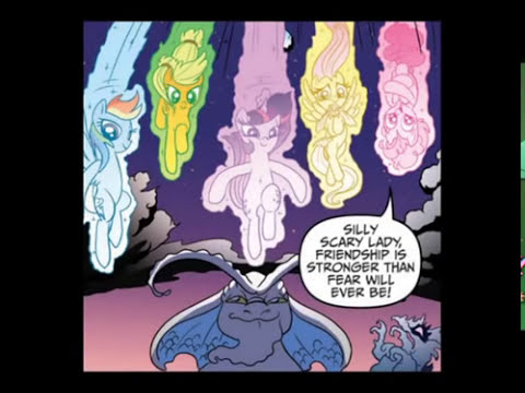 MLP: FIM Comic - Nightmare Rarity (Full Story)