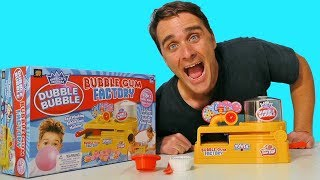 Dubble Bubble Bubble Gum Factory ! || Toy Review || Konas2002