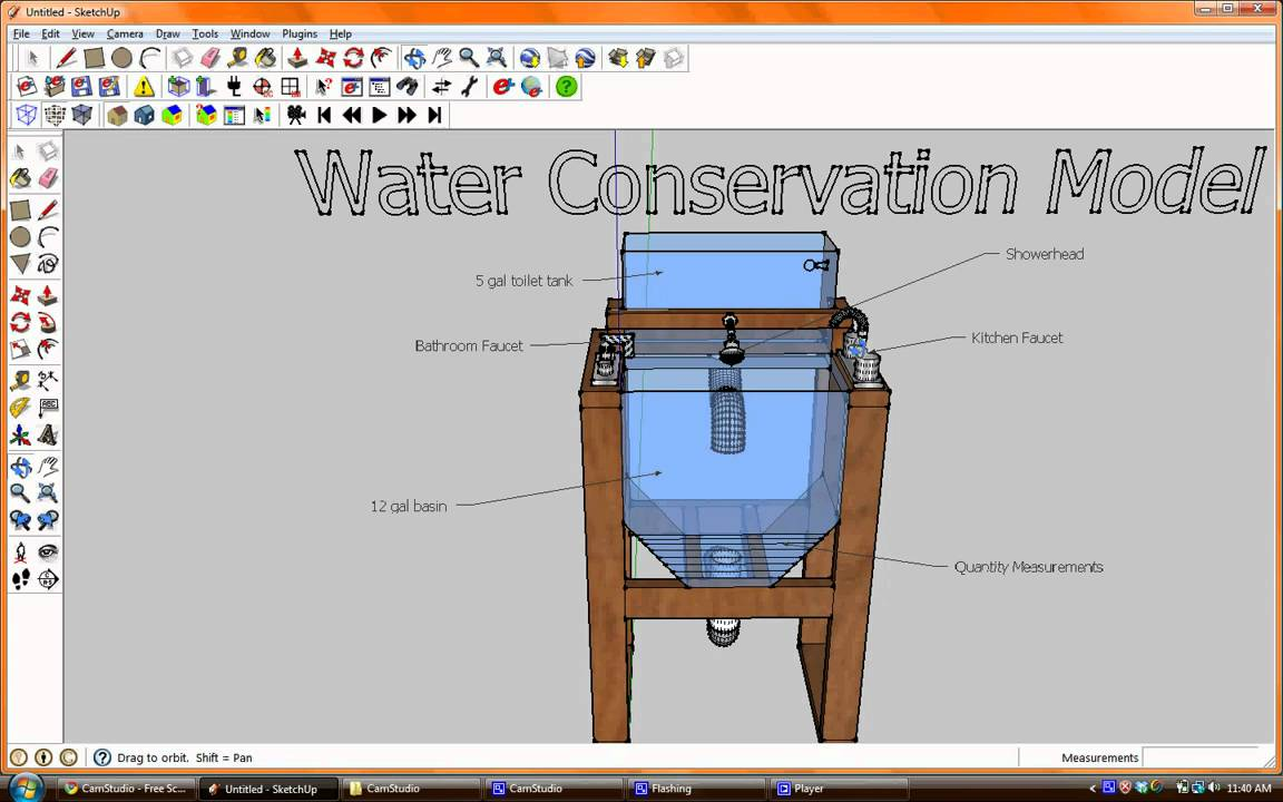Water conservation model youtube - Water kamer model ...