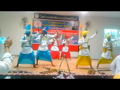 Bhangra on Song Burrraahh || Vidya Rattan College Team || at SLITE  Engineering College ||