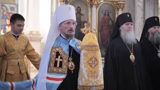 Слово Митрополита Вениамина в ответ на поздравление Синода БПЦ