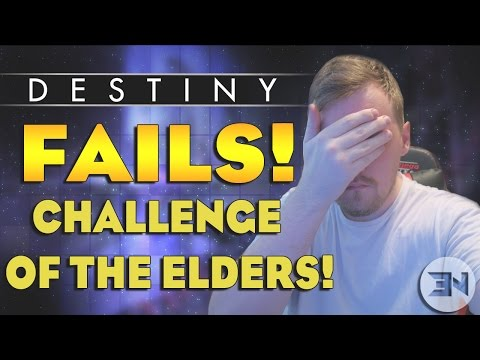 """Destiny Fails"" Challenge Of The Elders Epic Fails - ""Destiny Funny Moments"""